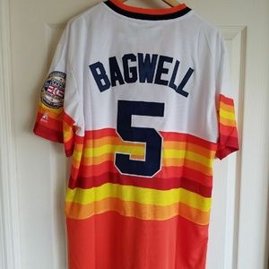 JEFF BAGWELL HOUSTON ASTROS THROWBACK JERSEY